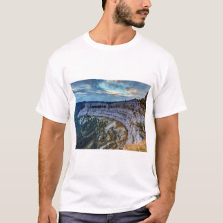 Creux du Van rocky cirque, Switzerland T-Shirt