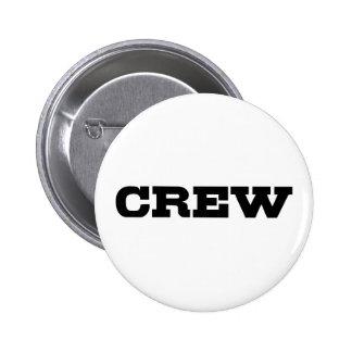 Crew 6 Cm Round Badge