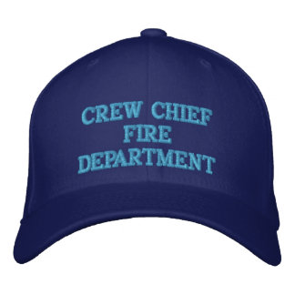 CREW CHIEF EMBROIDERED HAT