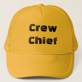 Crew Chief Trucker Hat