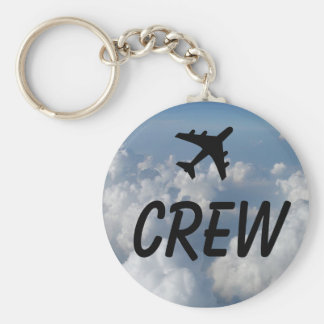 Crew Clouds Key Ring