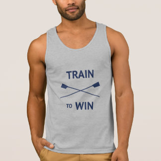 Crew rowing train win crossed oars singlet