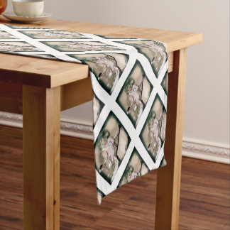 Crib Catch Vintage Style Short Table Runner