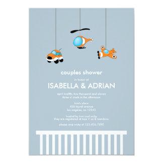 Crib Mobile Baby Shower Invitation