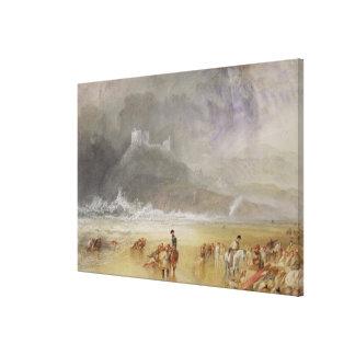 Criccieth Castle, North Wales Canvas Print