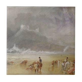 Criccieth Castle, North Wales Tile