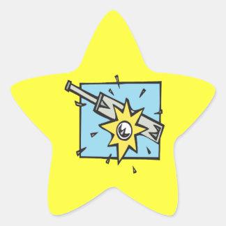 Cricket 3 star sticker