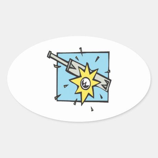 Cricket 3 oval sticker