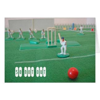 Cricket 50th birthday card