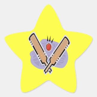 Cricket 5 star sticker