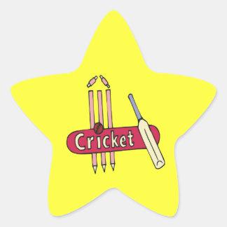 Cricket 7 star sticker
