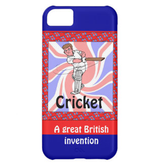 Cricket, a great British invention iPhone 5C Case