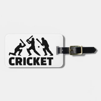 Cricket Bag Tag