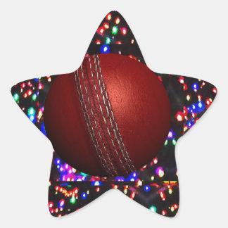 Cricket Ball Game Player Bowler Wicket Keeper Bat Star Sticker