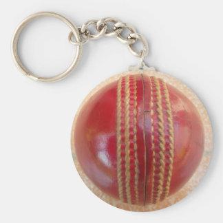 Cricket Ball.jpg Key Ring