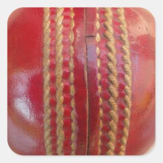 Cricket Ball.jpg Square Sticker