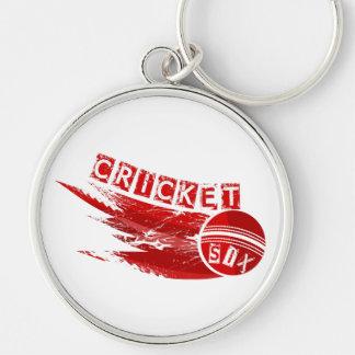 Cricket Ball Sixer Key Ring
