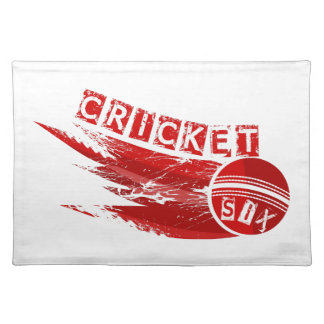 Cricket Ball Sixer Placemat