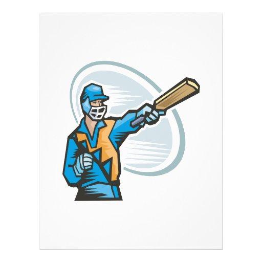 Cricket Batter 2 Flyer Design