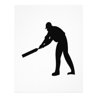 Cricket Batter Personalized Flyer