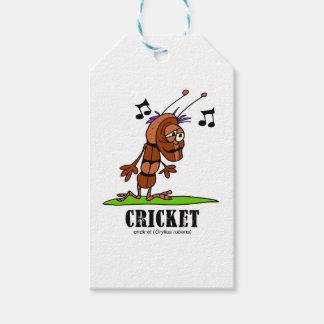Cricket by Lorenzo © 2018 Lorenzo Traverso Gift Tags