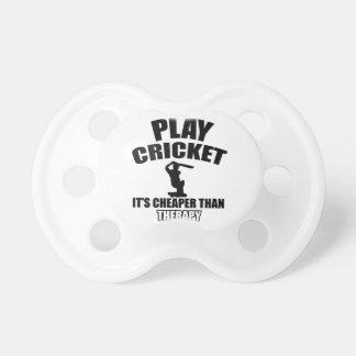 cricket   design dummy