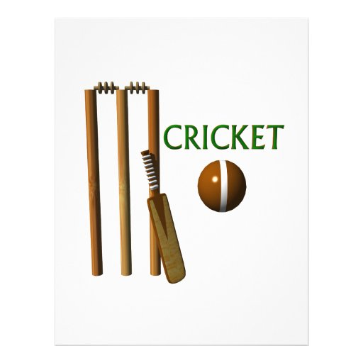 Cricket Personalized Flyer