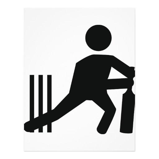 cricket icon flyer