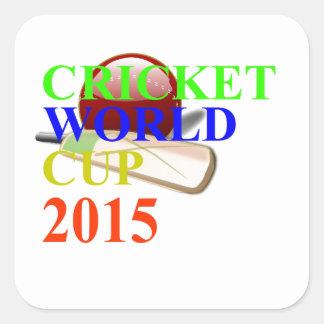 Cricket Image Square Sticker