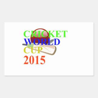 Cricket Image Rectangular Sticker