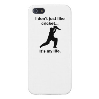 Cricket It's My Life Case For iPhone 5/5S