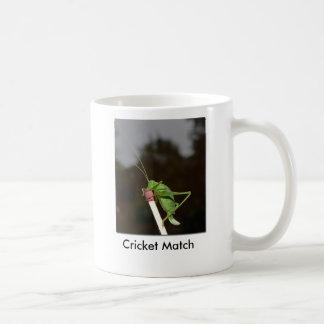 Cricket Match Coffee Mug