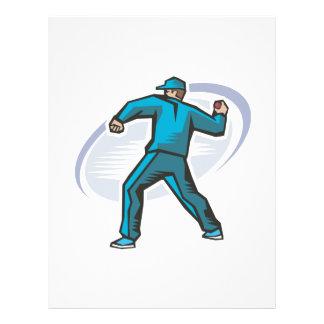 Cricket Pitcher Custom Flyer
