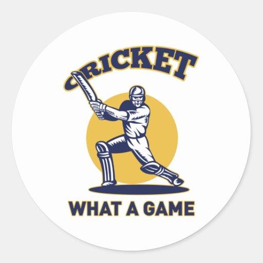cricket player batsman bat retro stickers