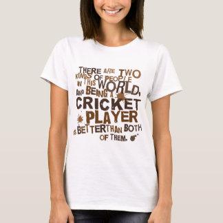 Cricket Player Gift T-Shirt