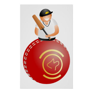 Cricket Player Poster