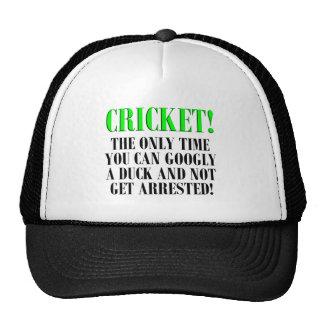 CRICKET Shirts, T-Shirts and Gifts! Cap
