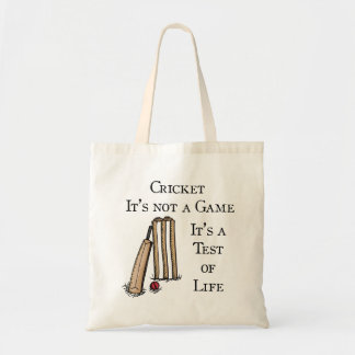 Cricket Shopping Bag