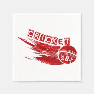 Cricket Sixer Disposable Napkin