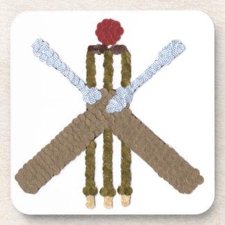 Cricket Square Drinks Coaster