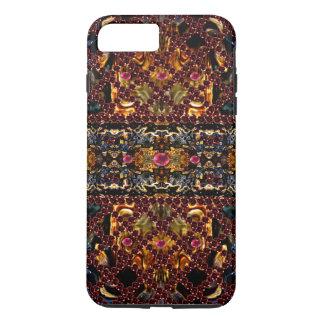 CricketDiane Art Ruby Jewel Trellis Goth Steampunk iPhone 7 Plus Case