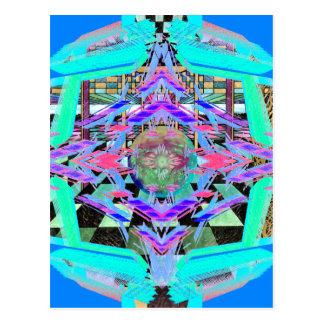 CricketDiane Extreme Design Extreme Geometry Postcard