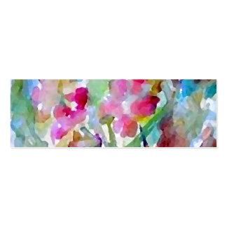 CricketDiane Flower Garden Pack Of Skinny Business Cards