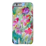 CricketDiane Flower Garden Watercolor Abstract iPhone 6 Case