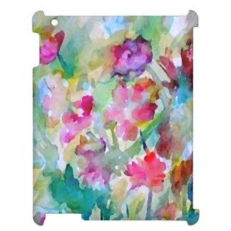 CricketDiane Flower Garden Watercolor iPad Case
