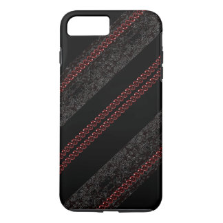 CricketDiane Goth Victorian Gothic Lace Ruby Gems iPhone 7 Plus Case