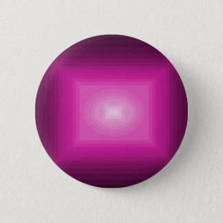 cricketdiane hot pink square immersed in pink 6 cm round badge