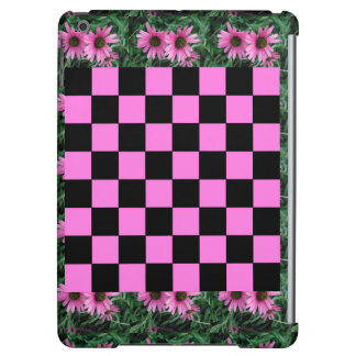 CricketDiane iPad Case Cute Checkerboard Pattern