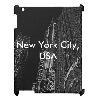 CricketDiane iPad Case NYC Black and White City US