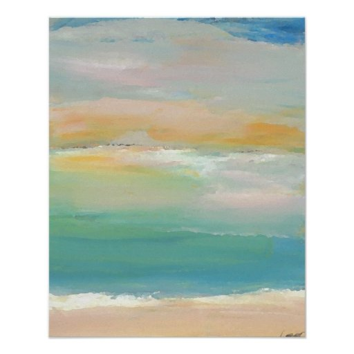 CricketDiane Ocean Poster - Summer Day